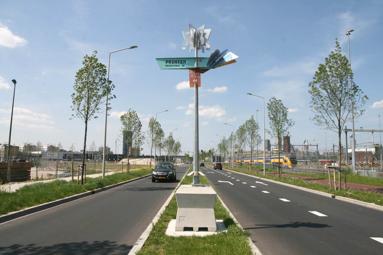 Markante 'Beings' markeren de Binckhorst