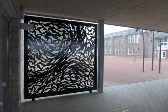 De Alice Vensters, kunst voor een school in Heerlen