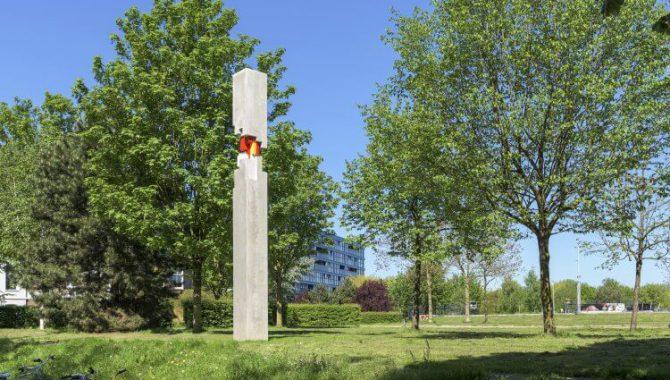 Tien nieuwe beelden tussen Utrecht en Amersfoort