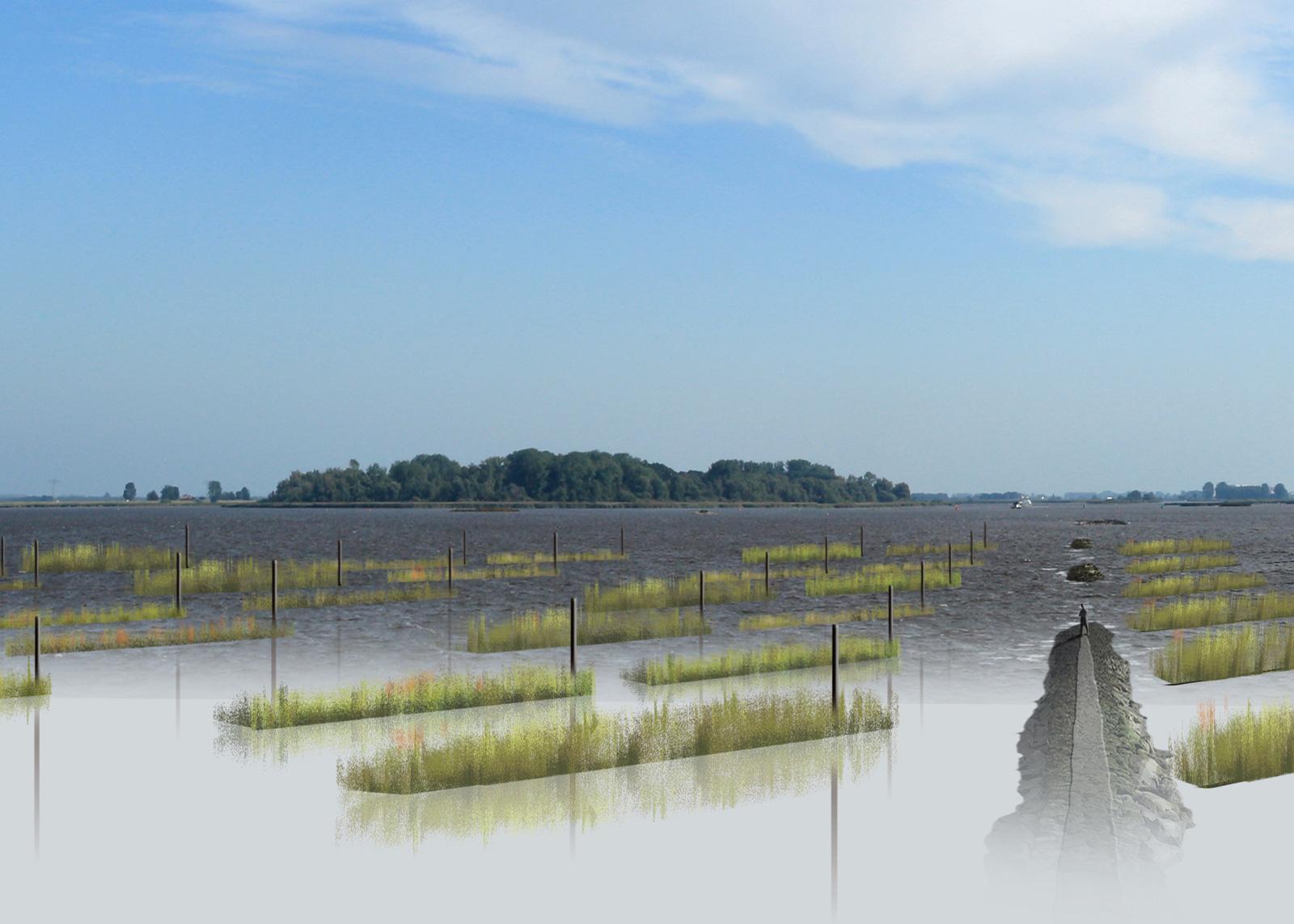 Het 7e landschapskunstwerk voor Flevoland