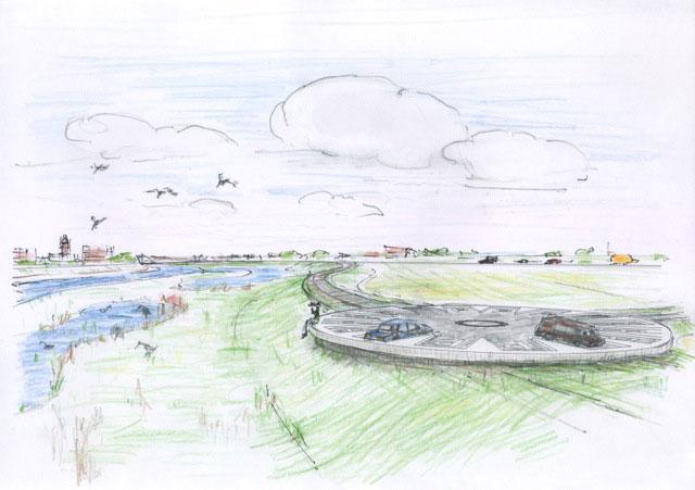 Jeroen van Westen over zijn rol bij de ontwikkeling van het Vechtpark in Hardenberg