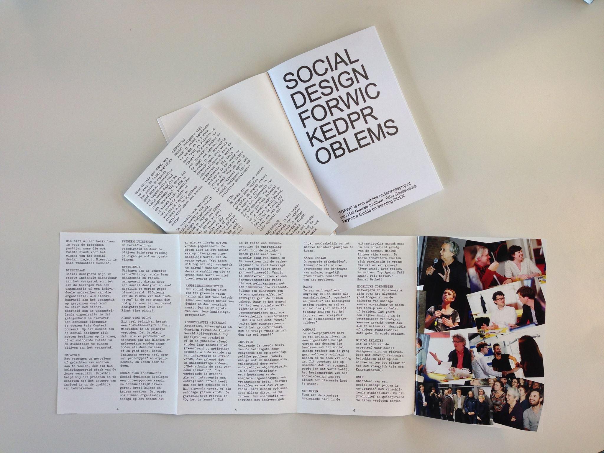Social Design voor taaie vraagstukken