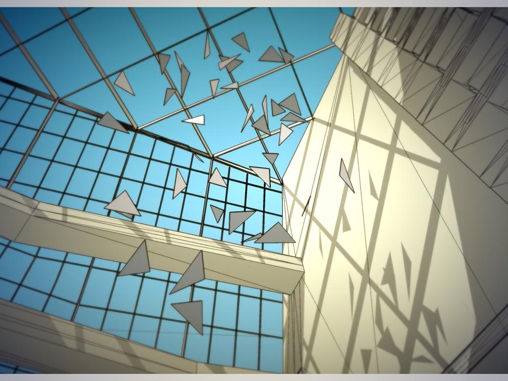 The Cloud. Een werk voor het prestigieuze gebouw 'The Edge' van Deloitte