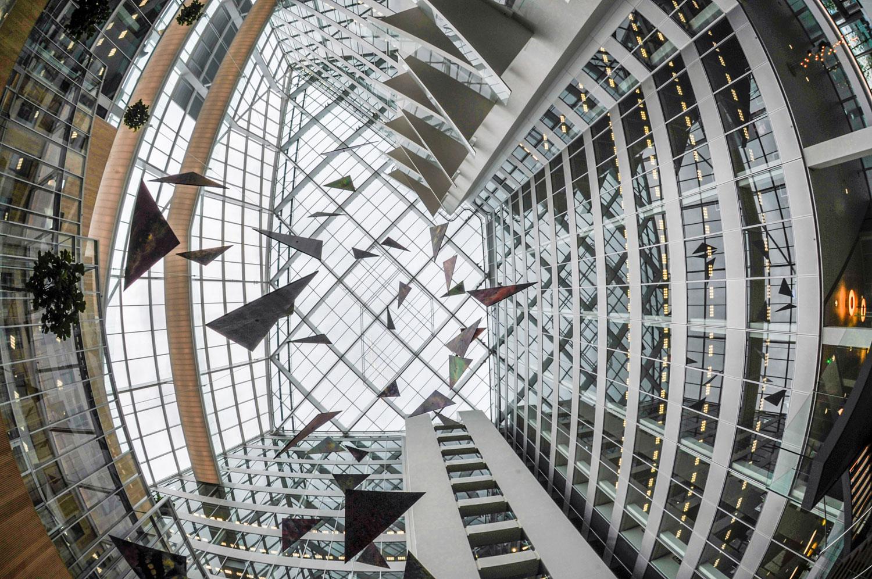 Deloitte levert bijzonder kunstwerk op in kantoor Amsterdam