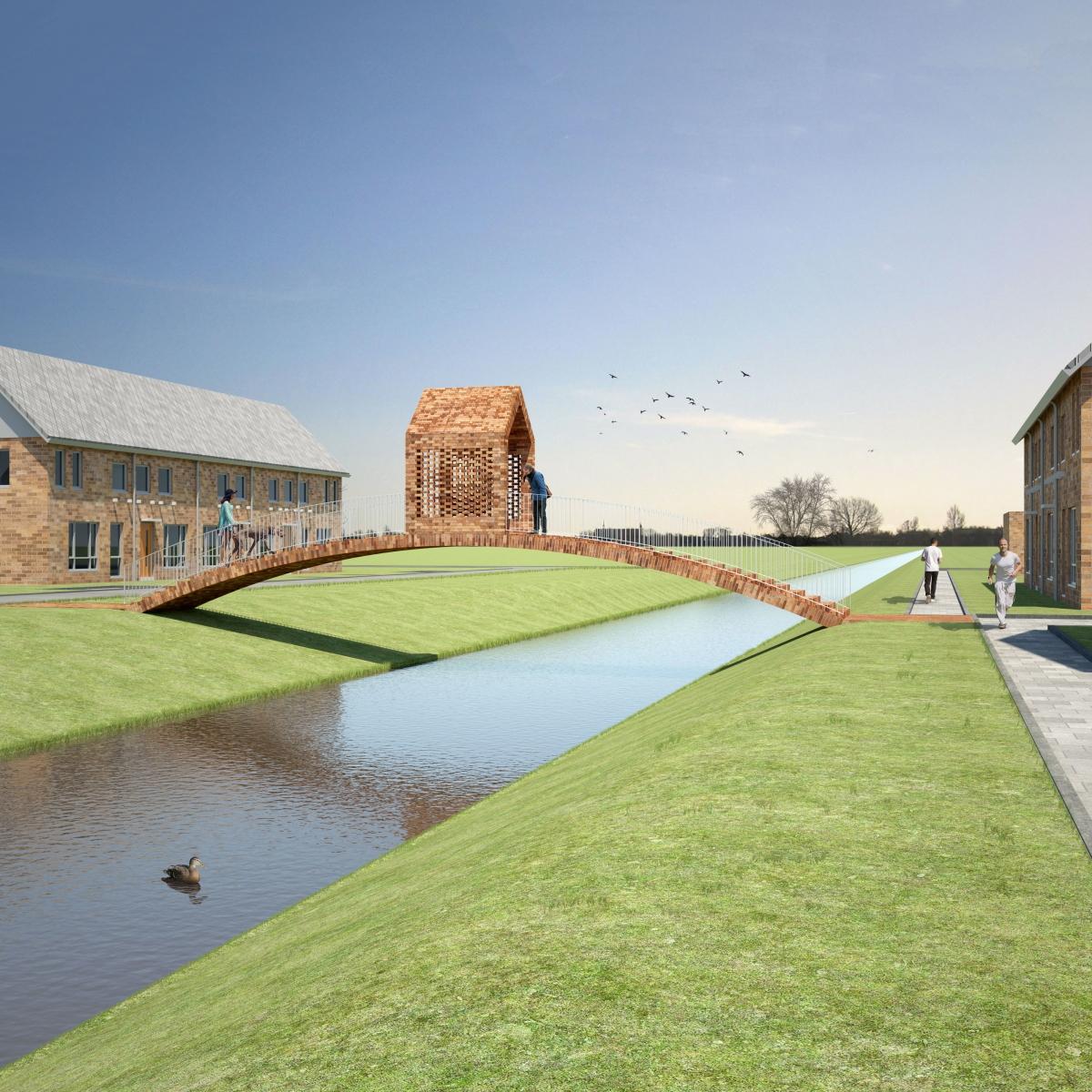 Ontwerpstudio PolyLester maakt ontwerp voor Beemsterbrug